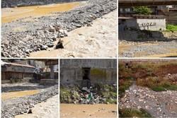نگرانی از ورود فاضلابهای خانگی به رودخانه مرکزی آستارا