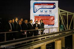 افتتاح تصفیه خانه فاضلاب شرق اهواز با حضور معاون اول رییس جمهوری