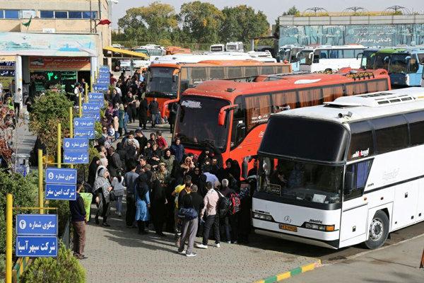 ۲۵ هزار زائر اربعین با ناوگان حمل و نقل عمومی در قزوین جابجاشدند
