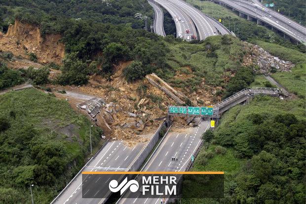 فلم/ برازیل میں مٹی کا تودہ گرنے سے 10 افراد ہلاک