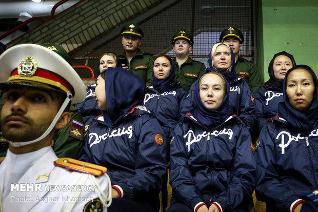 إفتتاح الدورة الاولى من مسابقات الرماية لعسكرين العالماولین دوره مسابقات تیروکمان نظامیان جهان در تهران