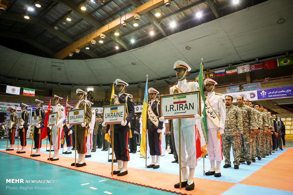 اولین دوره مسابقات تیروکمان نظامیان جهان در تهران