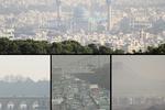 افزایش آلودگی هوا تا آخر هفته/بارندگی در زاگرس