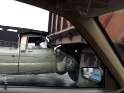 تصادف زنجیره ای ۵ دستگاه خودرو در محور آمل