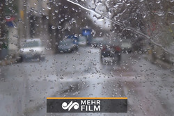 باد و بارش شدید رگباری در تهران