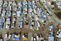 کانکسهای مناطق زلزلهزده کرمانشاه جمعآوری میشود