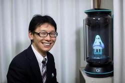 یک مرد ژاپنی با هولوگرام ازدواج کرد!
