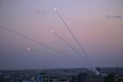 غزہ سے مقبوضہ فلسطین پر میزائل سے حملہ
