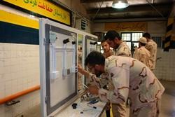 ارائه ۱۵۰ هزار نفر ساعت آموزش مهارتی در پادگانهای کرمانشاه