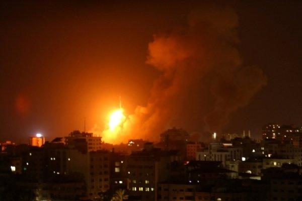 حمله بالگرد رژیم صهیونیستی به جنوب نوار غزه