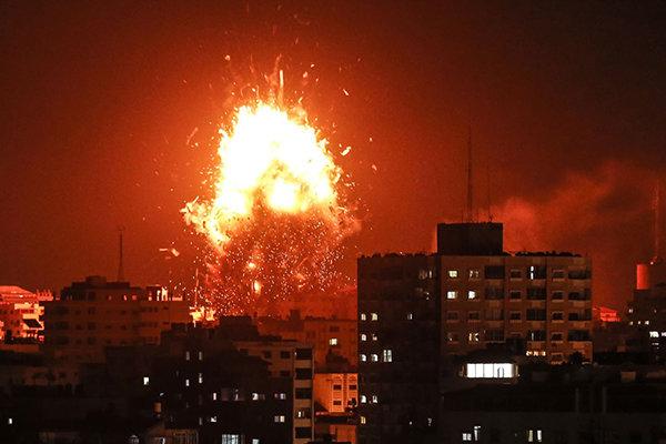 اسرائیلی فوج نے الاقصیٰ ٹی وی چینل کی عمارت مکمل طورپر تباہ کردی