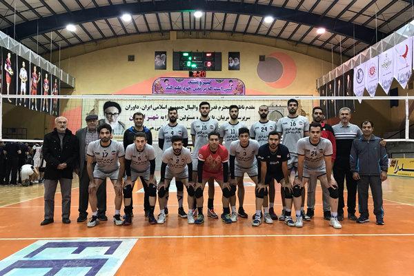 دو پیروزی تیم والیبال شهرداری قزوین در اردوی اردکان