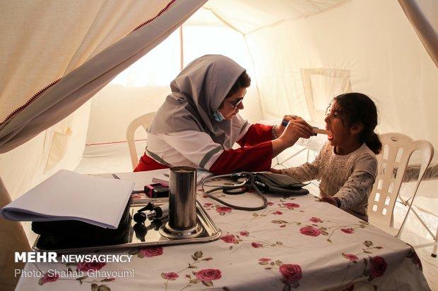 سهم هلال احمر در کاهش آلام زلزله زدگان