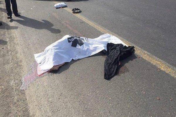 سهم ۴۵ درصدی عابرانپیاده تهرانی در تصادفات مرگبار سال ۹۷