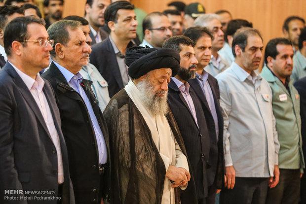 افتتاح و بهره برداری از چند پروژه صنعتی در خوزستان