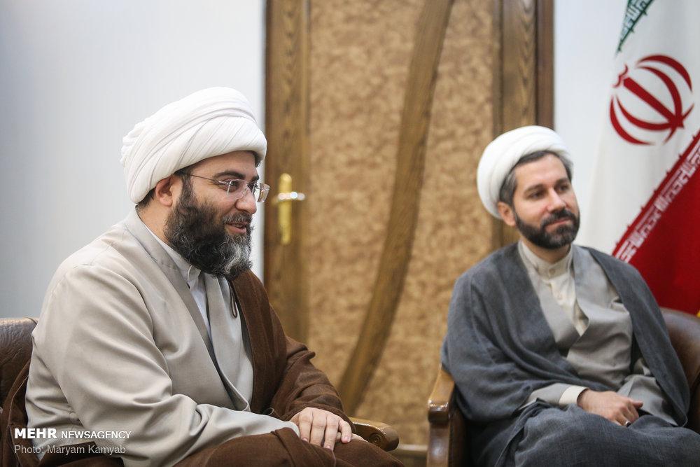 دیدار رئیس سازمان تبلیغات اسلامی و وزیر ارشاد