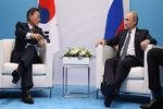 دیدار پوتین و «مون جائه این» درمورد کاهش تحریم های کره شمالی