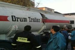 انفجار تانکر سوخت در کرمان/ یک نفر مصدوم شد