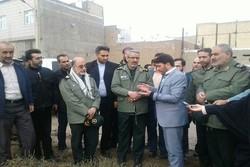 رئیس سازمان بسیج مستضعفین از مناطق محروم همدان بازدید کرد