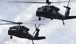 Intl. coalition helicopters transport ISIL terrorists from Hasaka