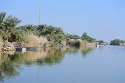 راه رسیدن بخشی از آب تالاب شادگان به خلیج فارس از کنار آبادان است