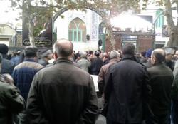 پیکر حجت الاسلام جان نثاری در لواسان آرام گرفت