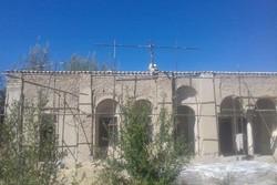 عملیات مرمت بنای نصرت الرعایا ارزوئیه آغاز شد