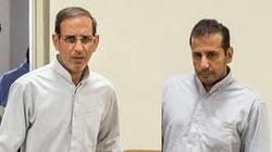 Vahid Mazloumin (left) and his accomplice Mohammad Esmaeil Qassemi