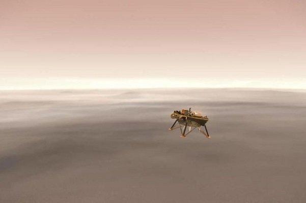 فرود مریخ نورد به طور زنده پخش می شود