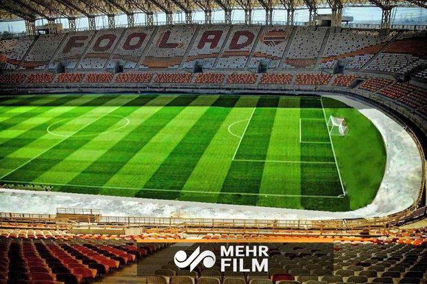 İran'da Fulad Arena Stadyumu açıldı
