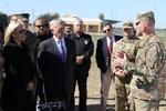 حمایت قاطع وزیر دفاع آمریکا از استقرار نظامیان در مرز مکزیک