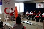 تیم های بهداشت و درمان هلال احمر در اردوی شرایط سخت شرکت کردند