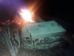 راننده سمند قربانی سبقت غیرمجاز شد