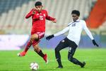 تساوی تیم ملی فوتبال ایران برابر ونزوئلا در نیمه اول