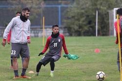 تیم ملی امید با بازیکنان استقلالیاش تمرین کرد