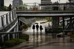 هوای پایتخت پاک شد/باران نفس تهران را تازه کرد