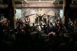 مراسم اولین سالگرد شهادت شهید مدافع حرم مرتضی عبدالهی