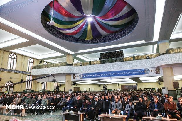 Füze uzmanı şehit Tahrani Mukaddem'i anma töreni