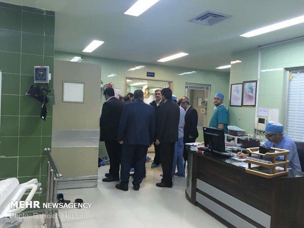 وزیر تعاون، کار و رفاه اجتماعی در بیمارستان حکیم جرجانی گرگان