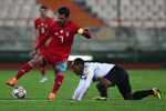 İranlı futbolcular hazırlık maçında zafere ulaştı