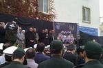 مراسم بدرقه پیکر رئیس و معاون سازمان تامین اجتماعی در گرگان