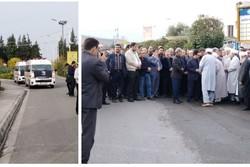 عبدالرحمن تاج الدین در گلستان شهدای اصفهان به خاک سپرده شد