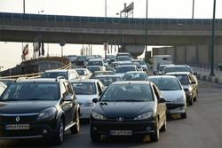 وضعیت ترافیک صبحگاهی تهران در اولین روز هفته