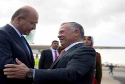 محورهای رایزنی برهم صالح با پادشاه اردن
