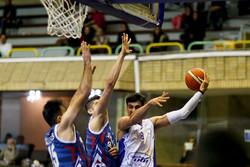 دیدار تیم های بسکتبال پگاه ایران و شهرداری گرگان
