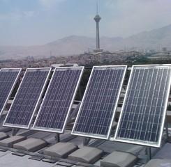 Solar electricity output