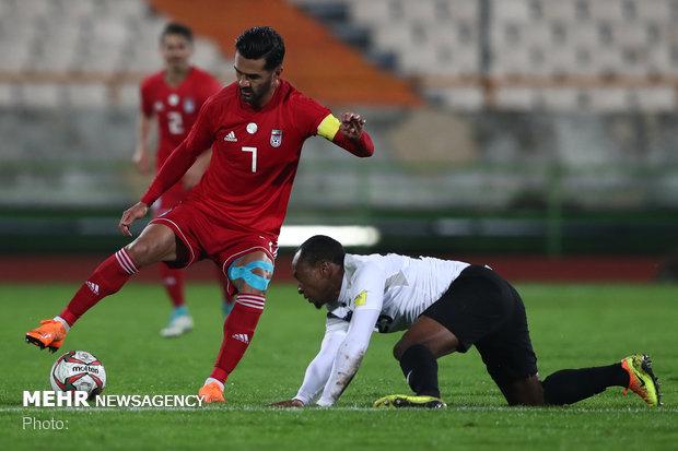 دیدار تیمهای فوتبال ایران و ترینیداد و توباگو