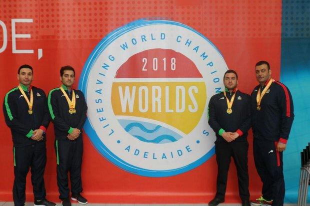 Iranian athletes win four medals at 2018 Lifesaving World C'ships