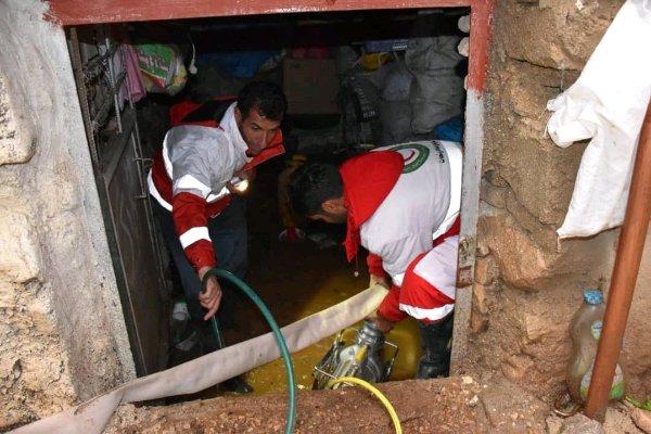 امداد رسانی به ۷۲ خانوار/ صاعقه جان یک نفر را گرفت