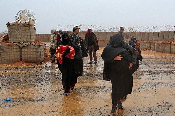 اوضاع اردوگاه الرکبان سوریه شبیه اردوگاههای جنگ جهانی دوم است